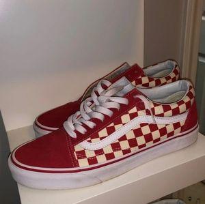 Vans old skool Checkerboard shoes W11
